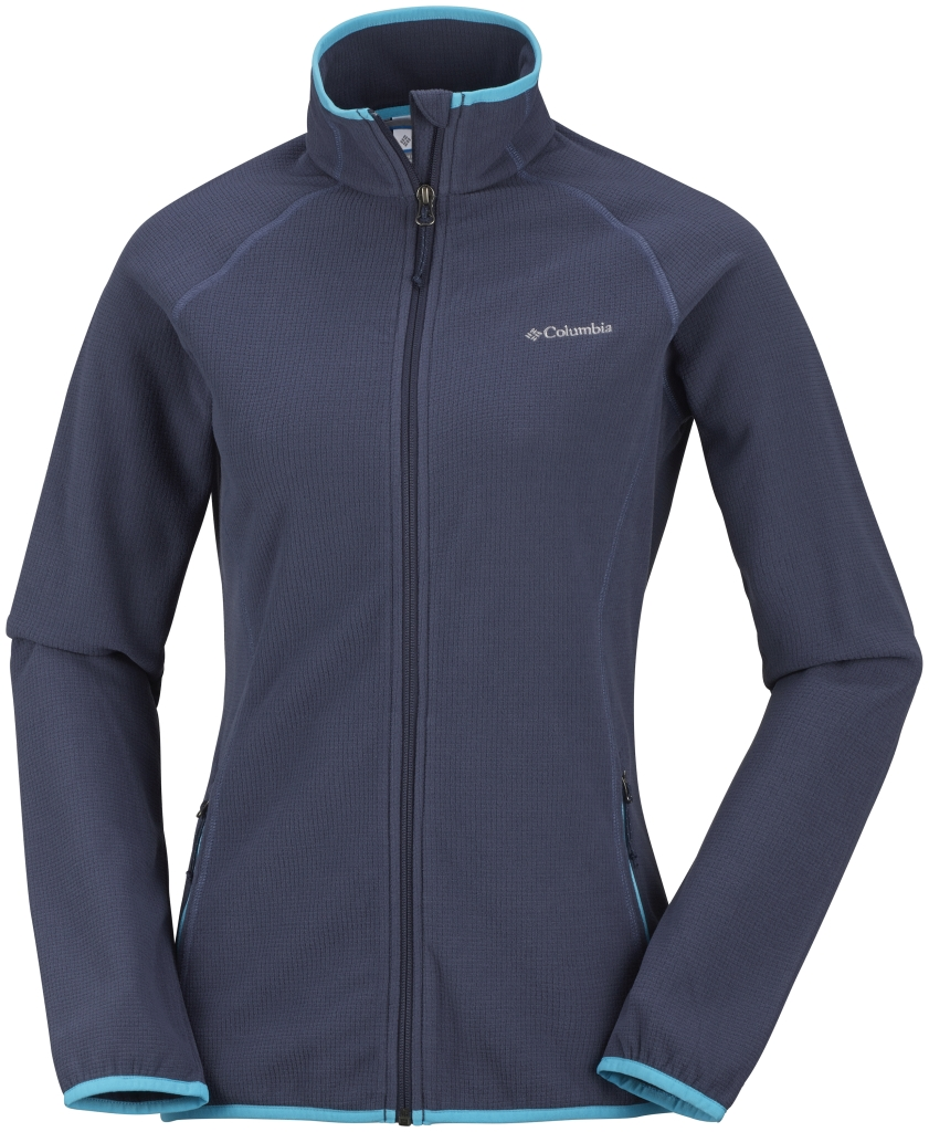 Columbia Women's Trails Edge Fleece Jacket Nocturnal-30