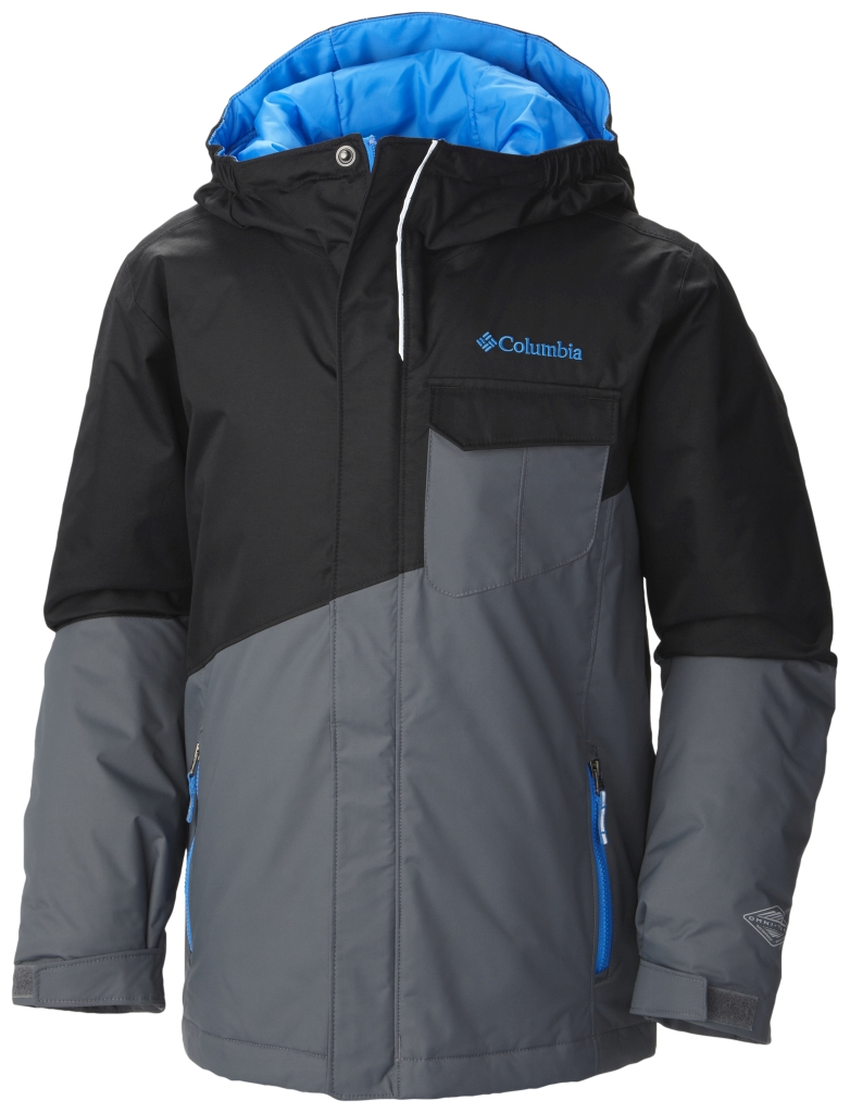 Columbia Boy's Shreddin' Jacket Black-30