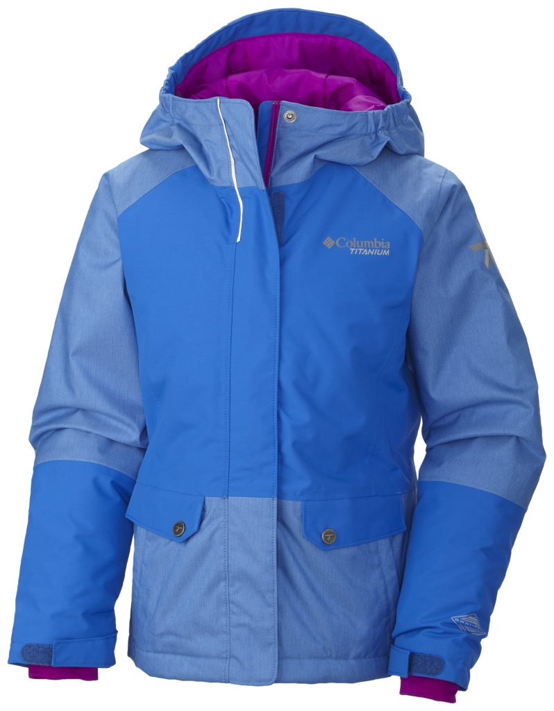 Columbia Girl's Shredlicious Jacket Blue Macaw-30