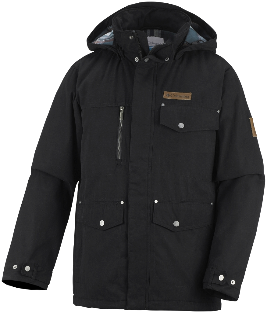 Columbia Canyon Cross Jacke für Herren Black-30