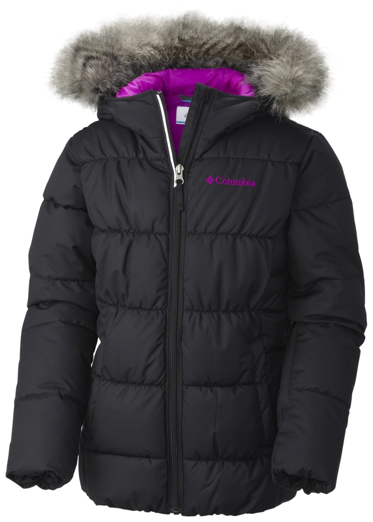 Columbia Girl'S Gyroslope Jacket Black-30