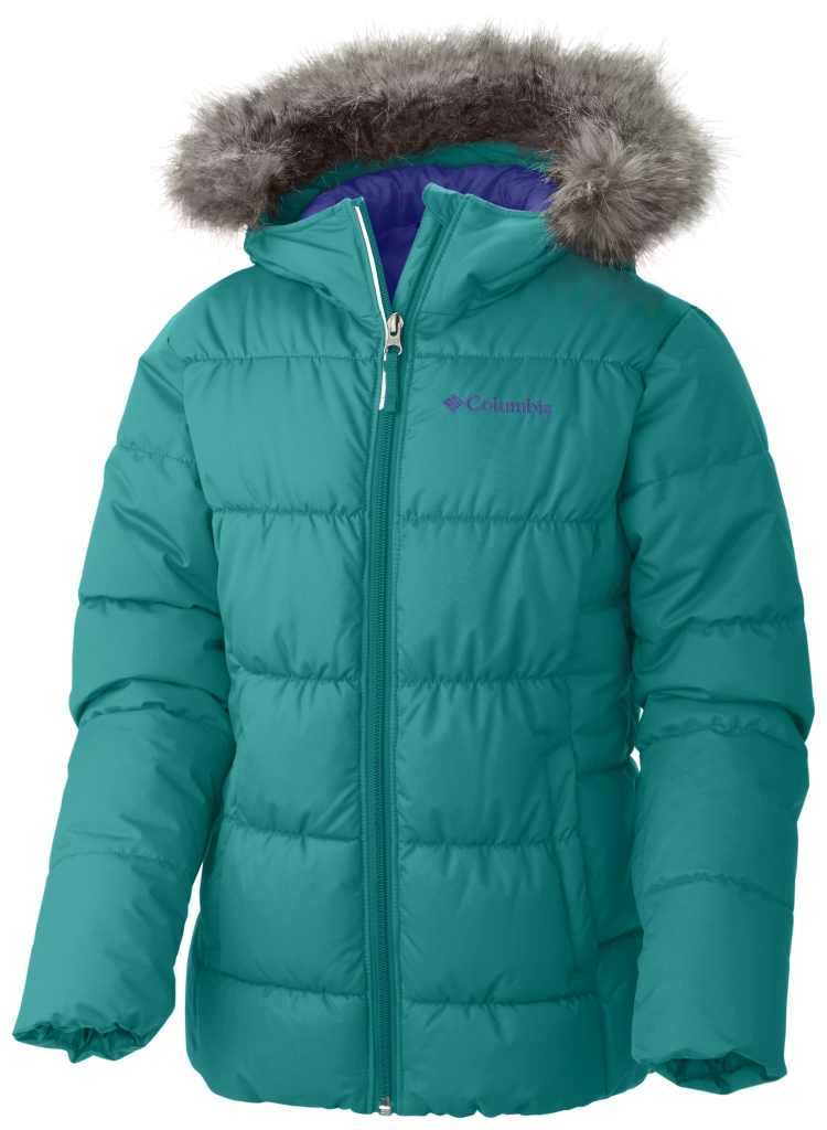 Columbia Girl'S Gyroslope Jacket Mayan Green-30