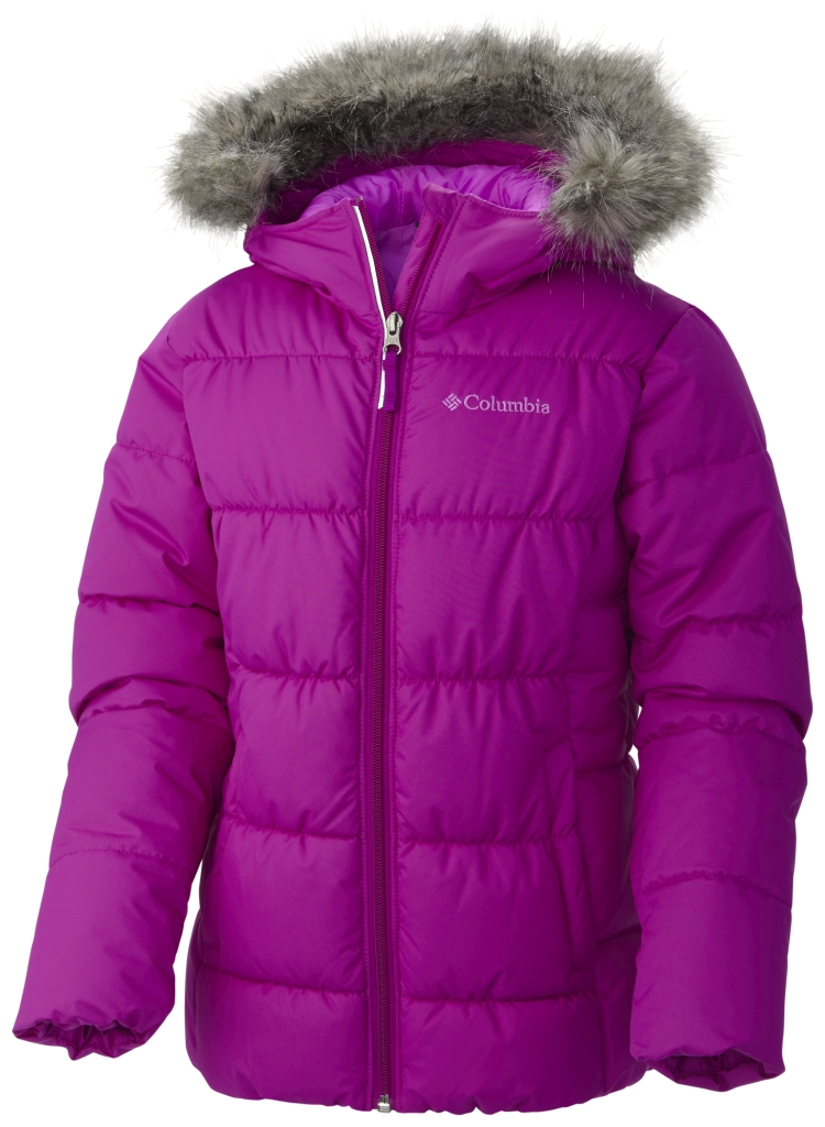 Columbia Girl'S Gyroslope Jacket Bright Plum-30
