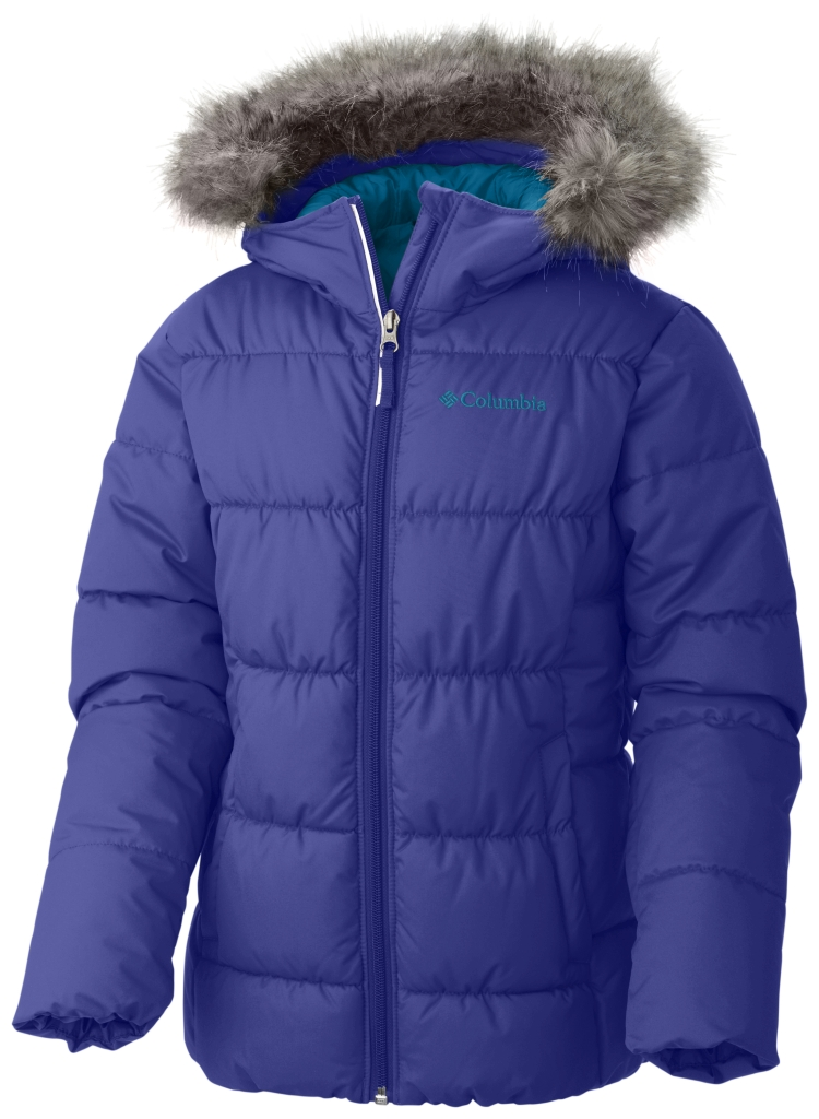 Columbia Girl'S Gyroslope Jacket Light Grape-30