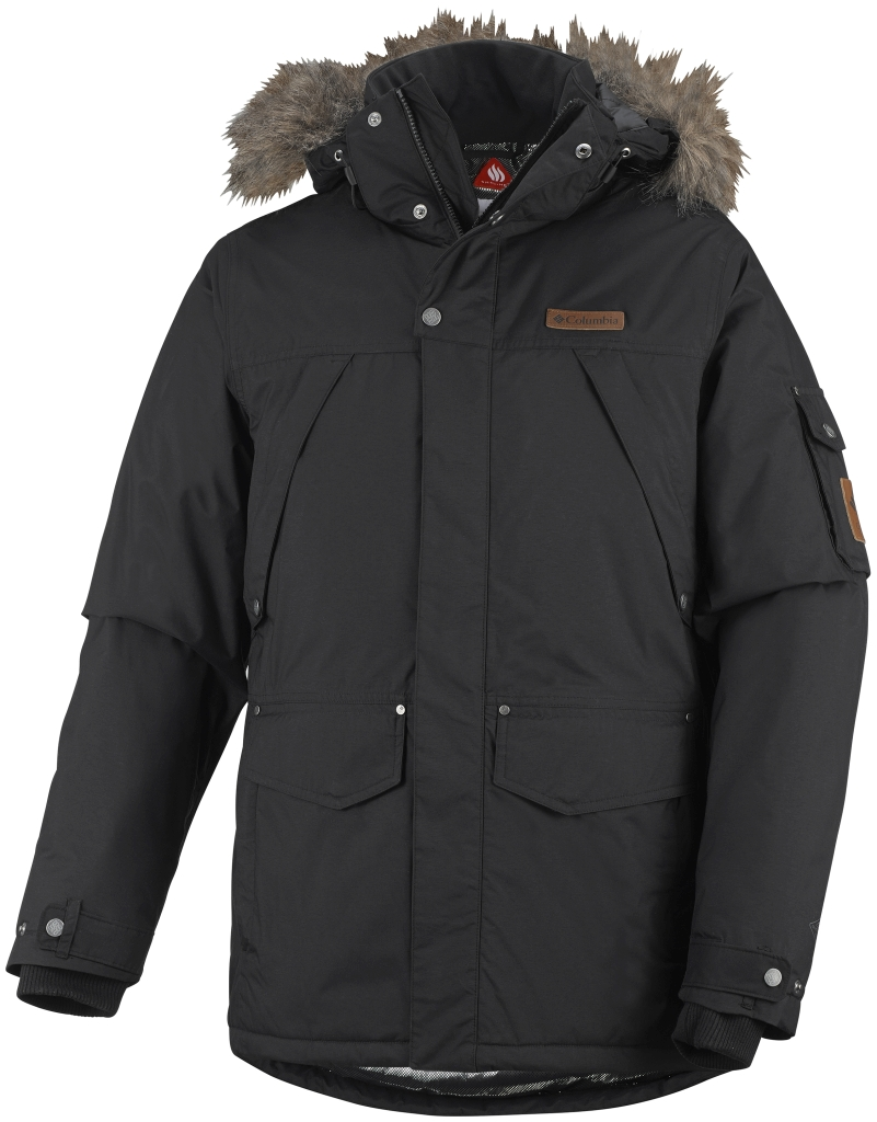 Columbia High Pass Herrenjacke Black-30