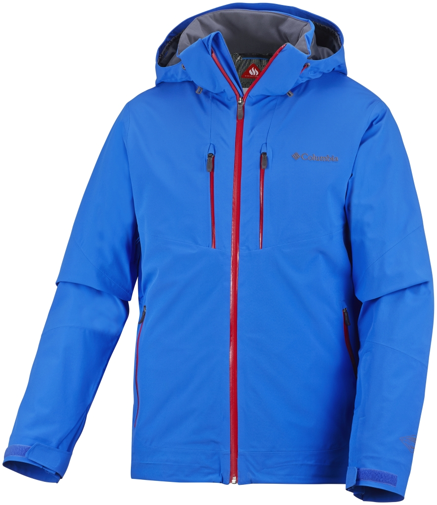 Columbia Men's Millennium Blur Jacket Hyper Blue-30