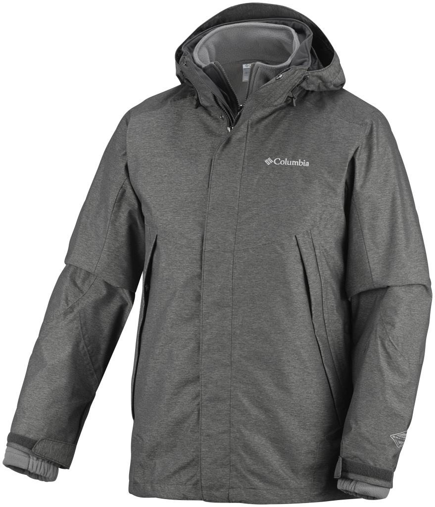 Columbia Men's Sestrieres Interchange Jacket Buffalo Crossdye Boulder-30