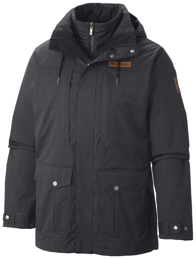 Columbia Men's Horizons Pine Interchange Jacket Black Black-30