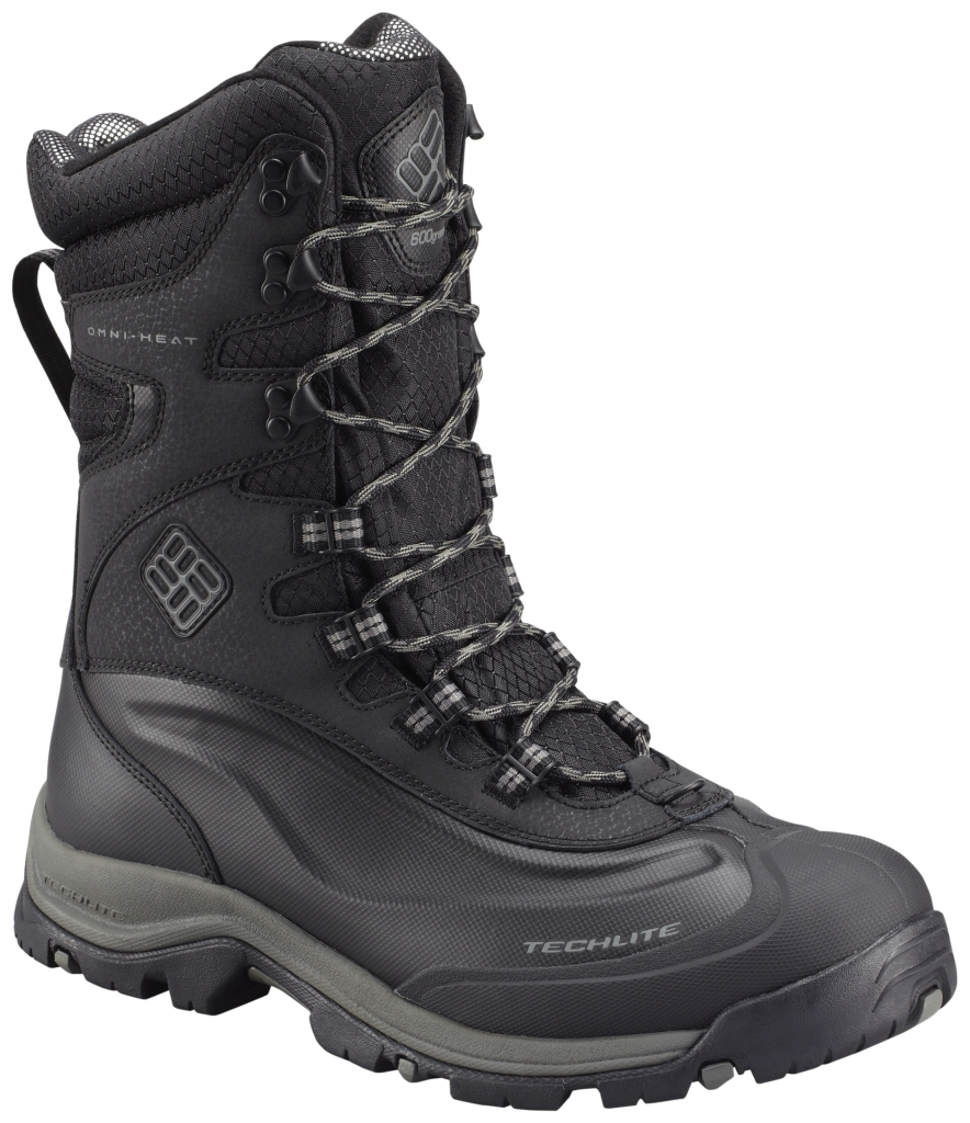 Columbia Men's Bugaboot Plus III Xtm Omni-Heat Black Charcoal-30