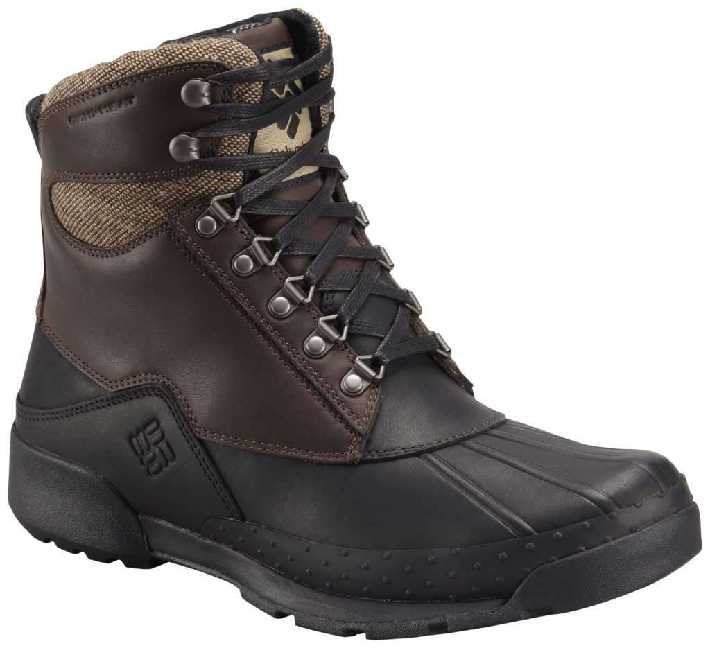 Columbia Men's Bugaboot Original Omni-Heat Stout Black-30