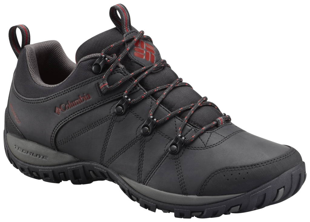 Columbia Men's Peakfreak Venture Waterproof Shoe Black Gypsy-30