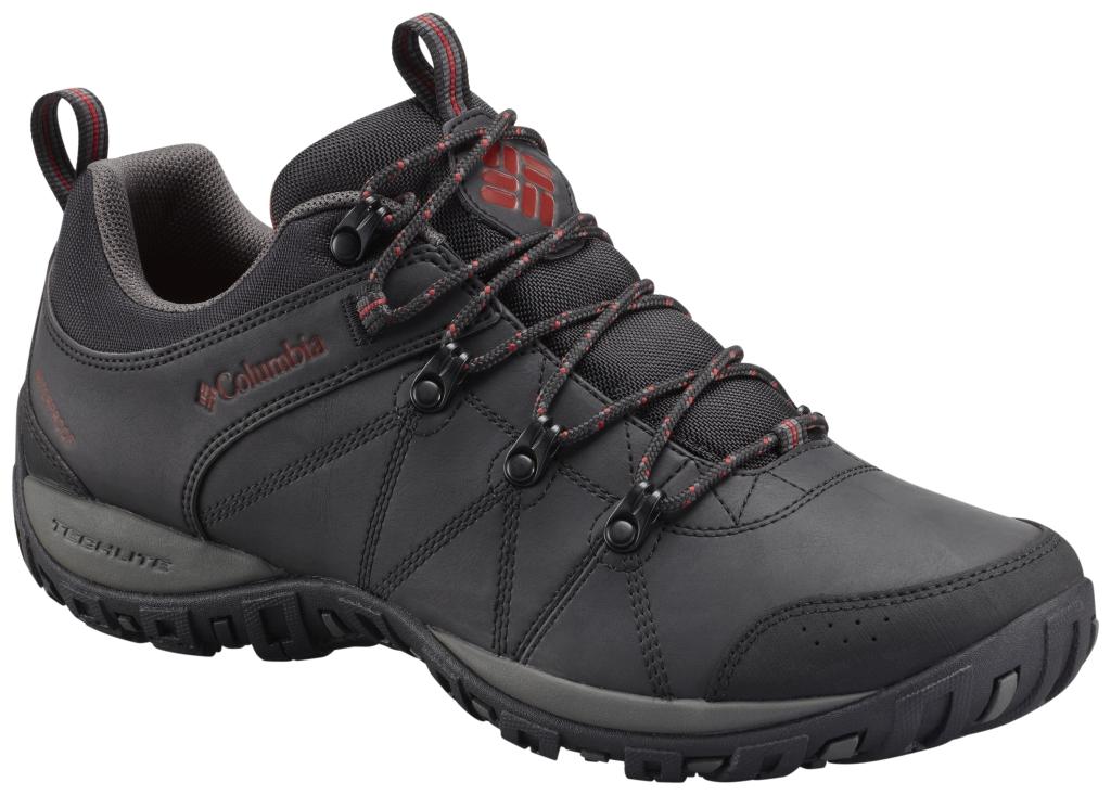 Columbia Men's Peakfreak Venture Waterproof Shoe Black Gypsy-30
