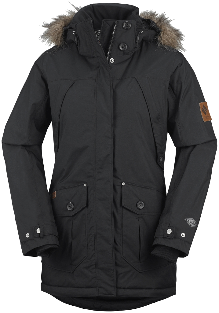 Columbia Women's High Pass Jacket Black-30