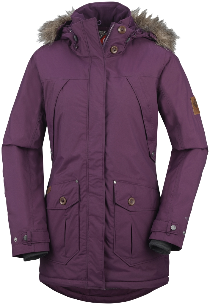 Columbia Women's High Pass Jacket Purple Dahlia-30