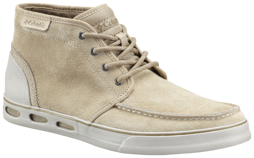 Columbia Men´s Vulc N' Vent Chukka Leather Boot British Tan Flax-30