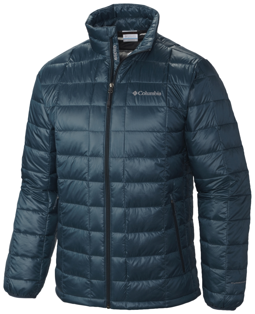 Columbia Men's Trask Mountain 650 Turbodown Jacket Everblue-30