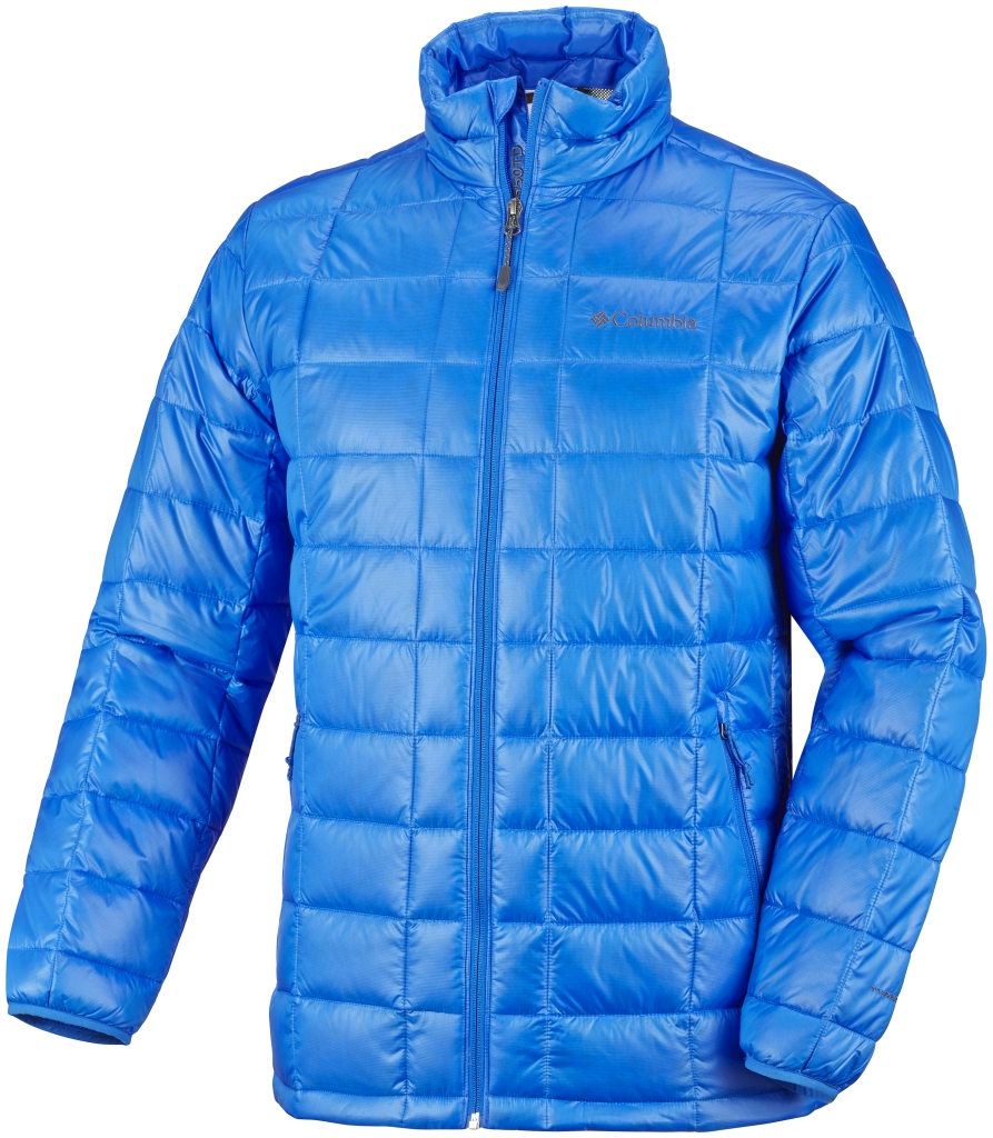 Columbia Men's Trask Mountain 650 TurboDown Jacket Hyper Blue-30