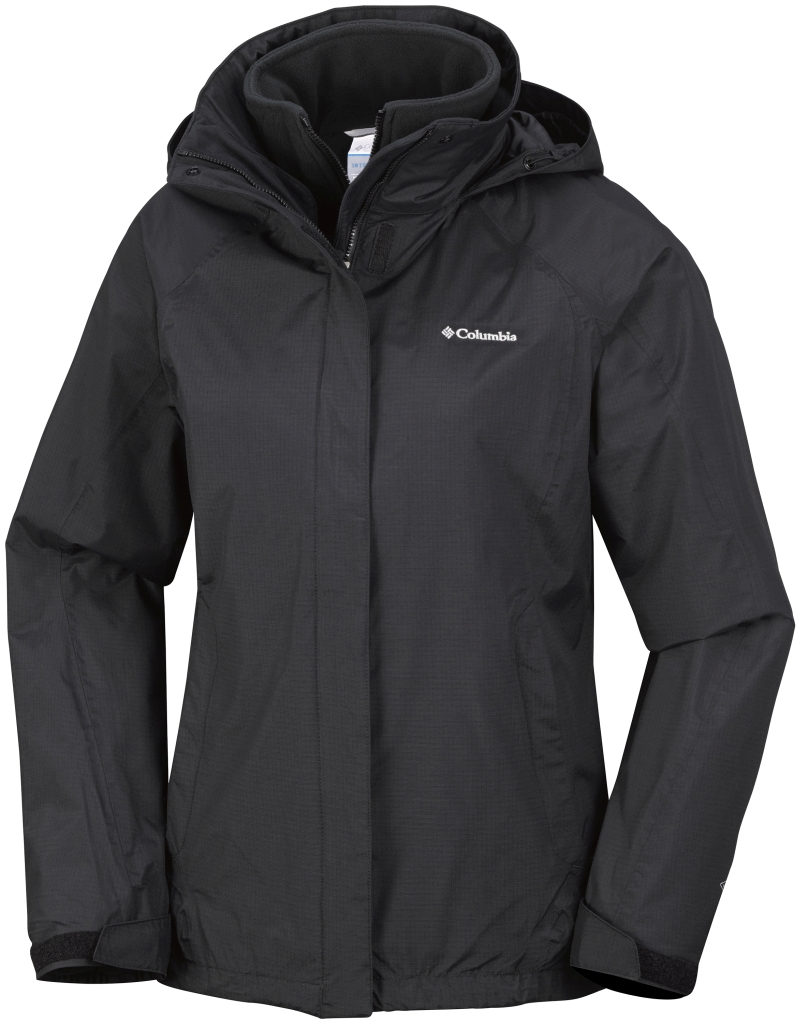 Columbia Women's Venture On Interchange Jacket Black-30