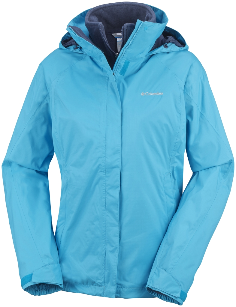 Columbia Women's Venture On Interchange Jacket Atoll Nocturnal-30