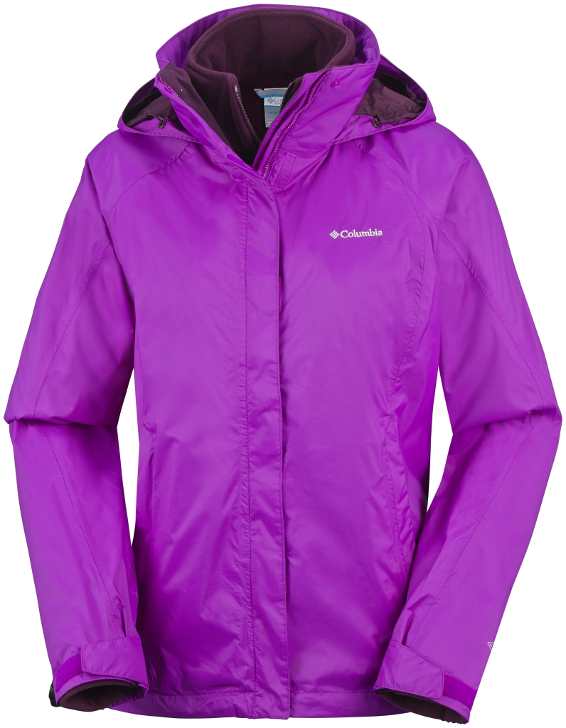 Columbia Venture On Doppeljacke für Damen Bright Plum Purple Dahlia-30