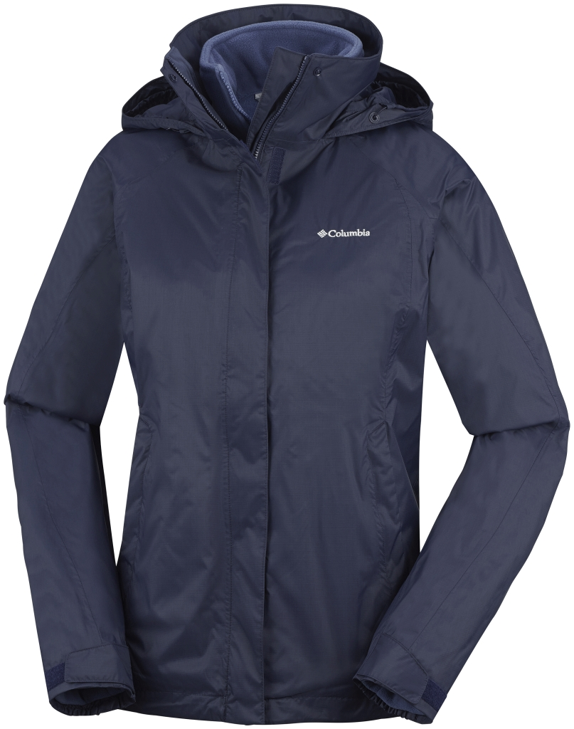 Columbia Women's Venture On Interchange Jacket Nocturnal Bluebell-30