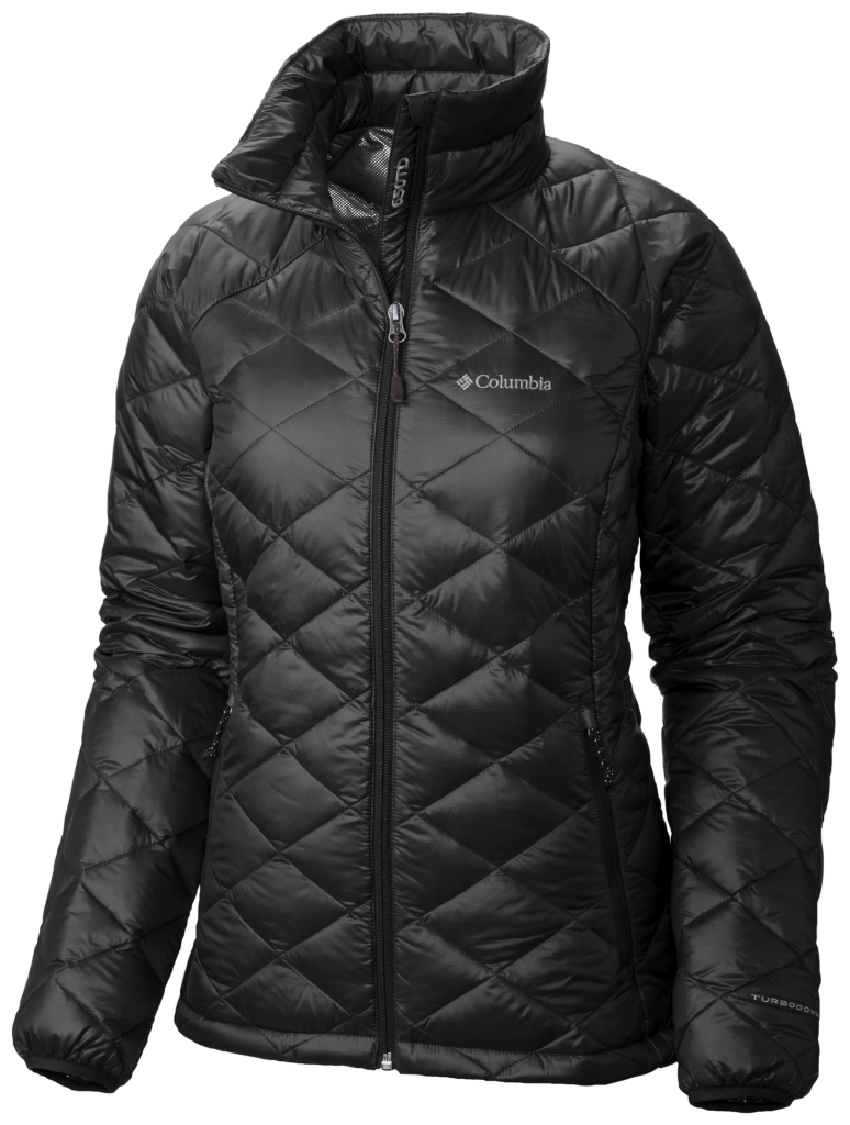 Columbia Women's Trask Mountain 650 Turbodown Jacket Black-30
