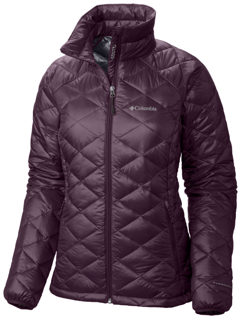 Columbia Trask Mountain 650 Turbodown Damenjacke Purple Dahlia-30