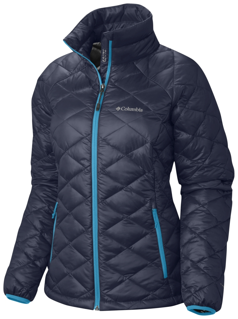 Columbia Women's Trask Mountain 650 Turbodown Jacket Nocturnal Atoll-30