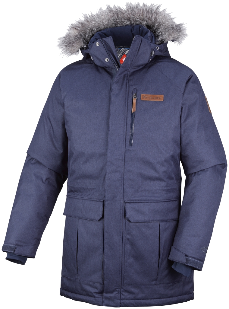 Columbia Men´s Alpine Escape Down Jacket Collegiate Navy-30