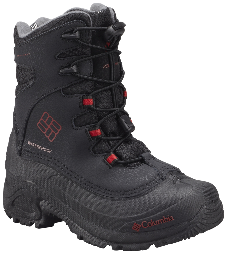 Columbia Bugaboot Plus III Omni-Heat Für Kinder Grösse 32-39 Black Rocket-30