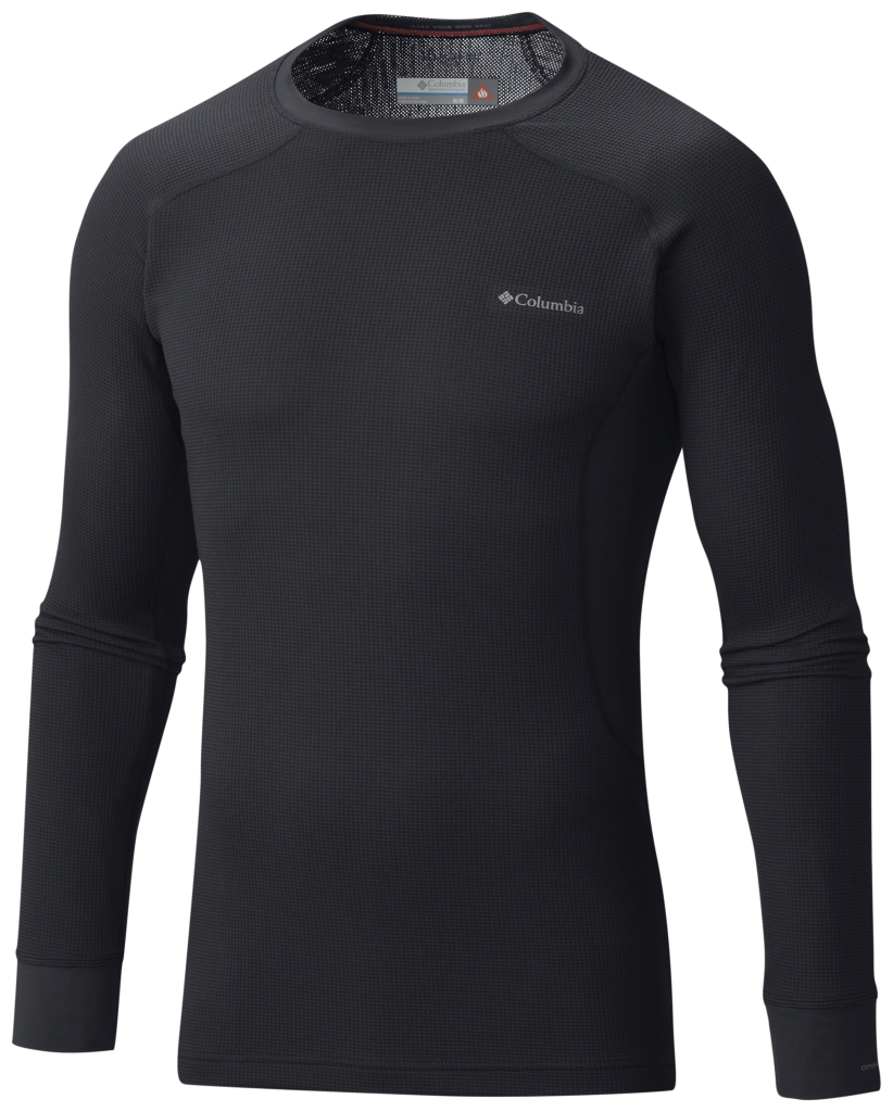 Columbia Men's Heavyweight II Stretch Baselayer Long Sleeve Shirt Black-30