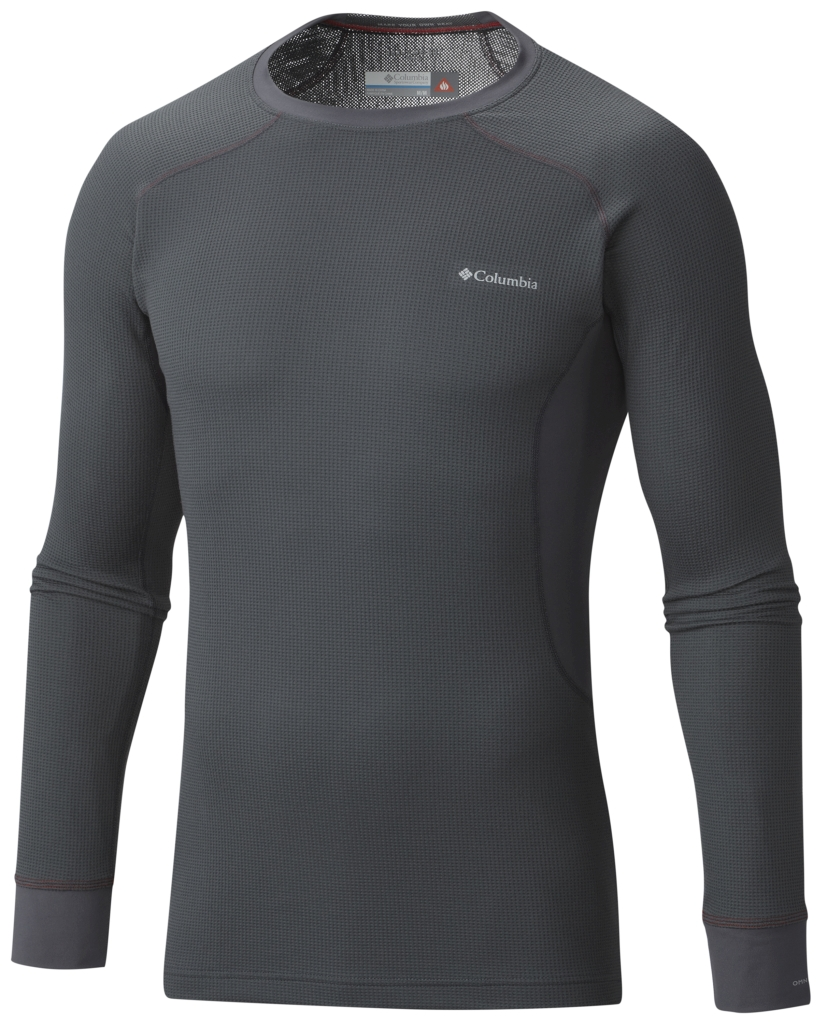 Columbia Men's Heavyweight II Stretch Baselayer Long Sleeve Shirt Graphite-30