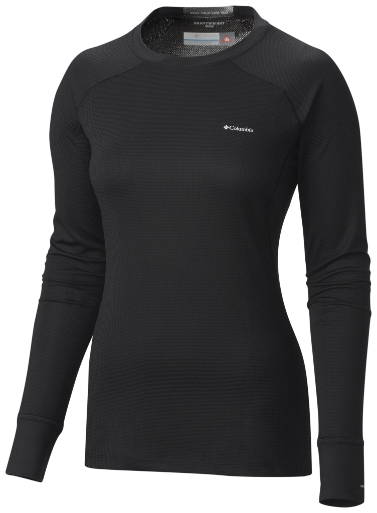 Columbia Heavyweight II Langarmshirt Für Damen Black-30