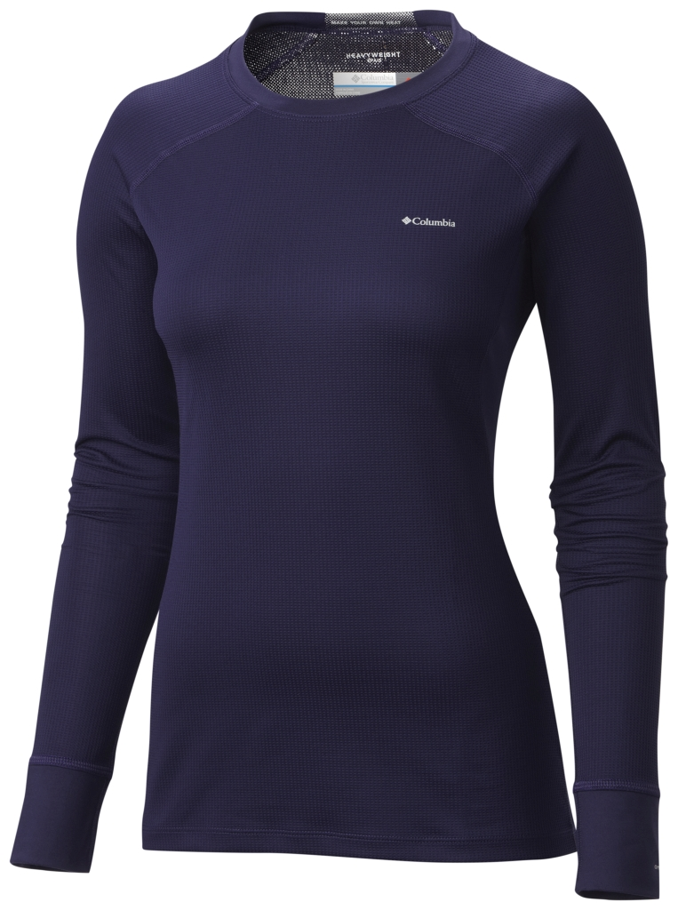 Columbia Women's Heavyweight II Baselayer Long Sleeve Top Inkling-30