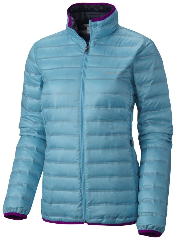 Columbia Women's Flash Forward Down Jacket Atoll Nocturnal-30