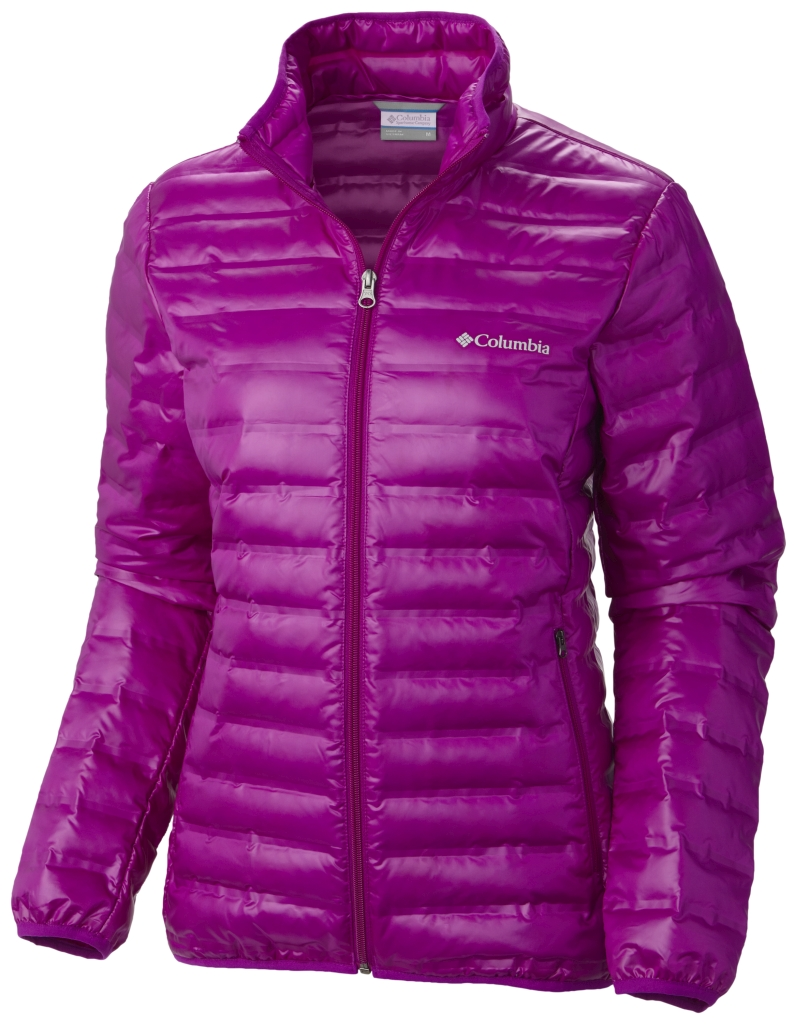 Columbia Women's Flash Forward Down Jacket Bright Plum-30