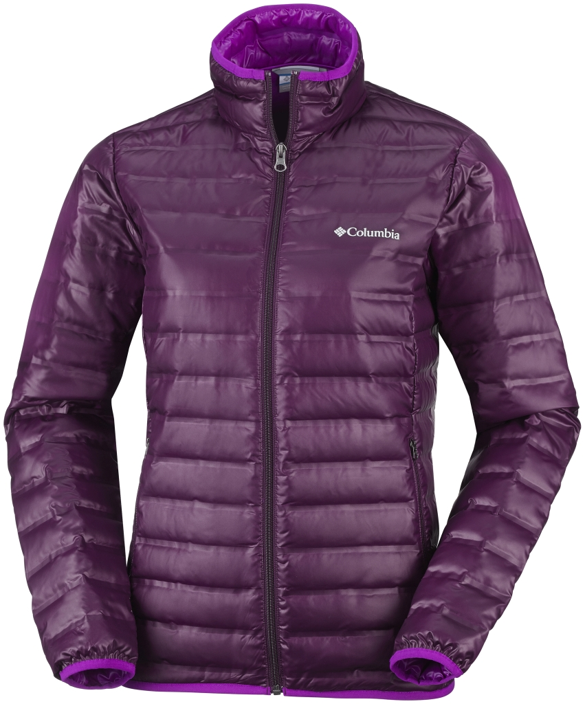 Columbia Women'S Flash Forward Down Jacket Purple Dahlia Bright Plum-30
