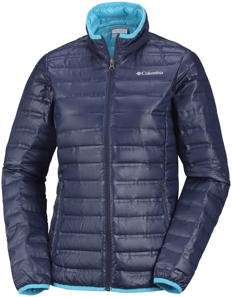 Columbia Women's Flash Forward Down Jacket Nocturnal Atoll-30
