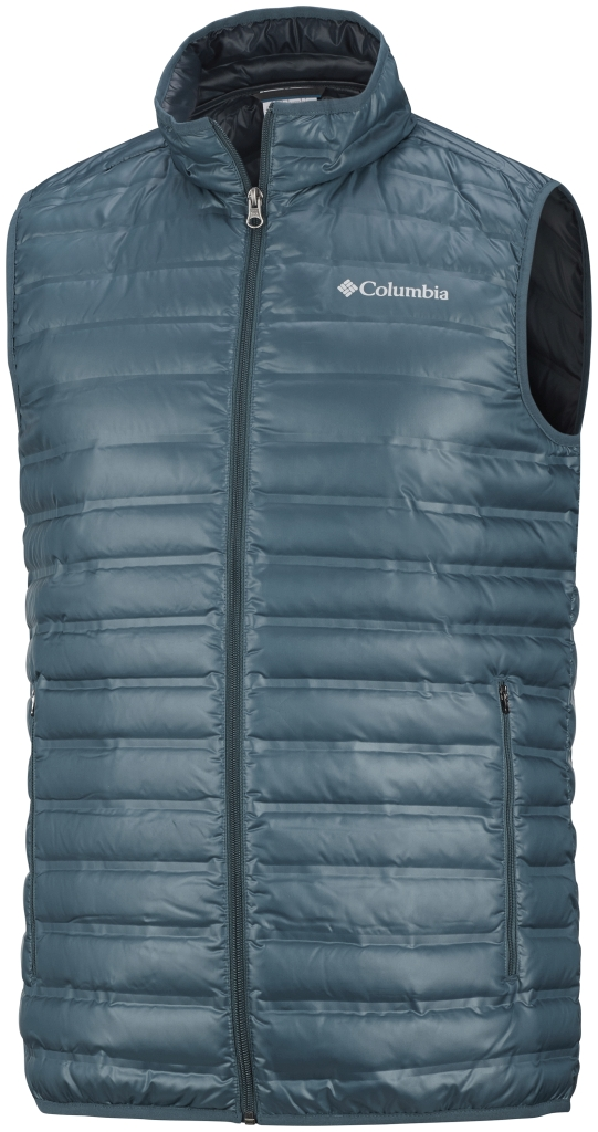 Columbia Men's Flash Forward Down Vest Everblue-30