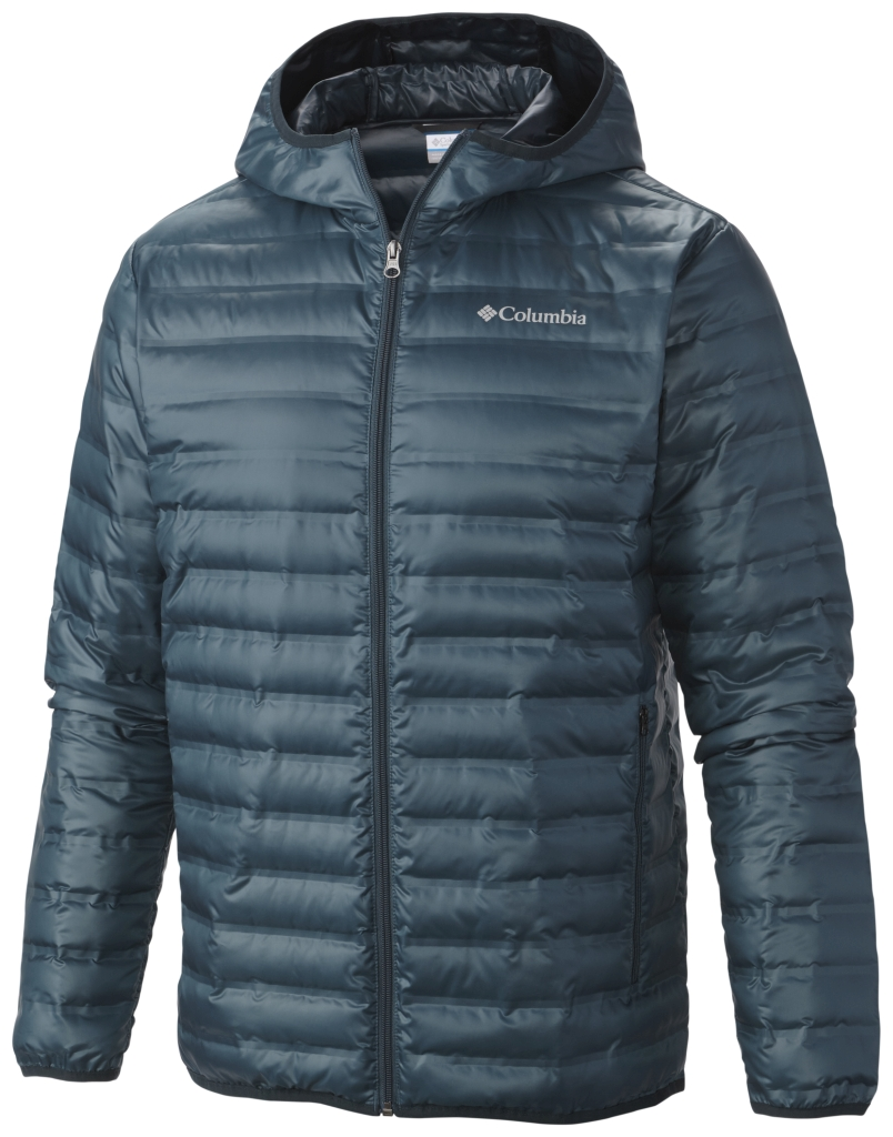 Columbia Men's Flash Forward Down Hooded Jacket Everblue-30
