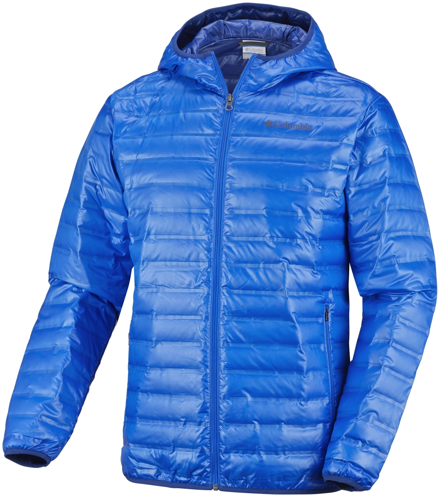 Columbia Men's Flash Forward Down Hooded Jacket Hyper Blue-30