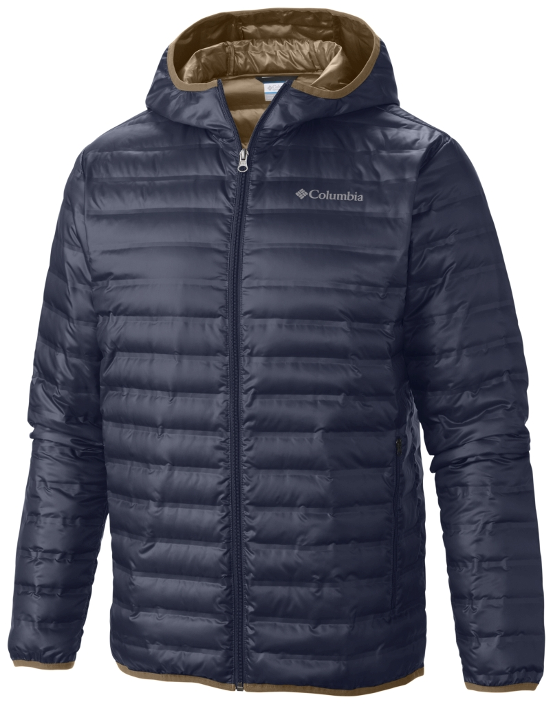 Columbia Men's Flash Forward Down Hooded Jacket Nocturnal-30