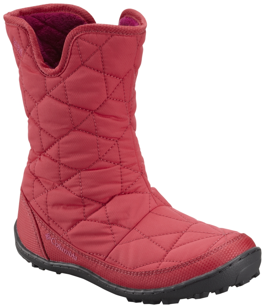 Columbia Youth Minx Slip Omni-Heat Waterproof Tango Pink Deep Blush-30