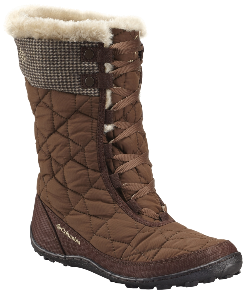 Columbia Women'S Minx Mid Omni-Heat Tweed Boot Umber British Tan-30