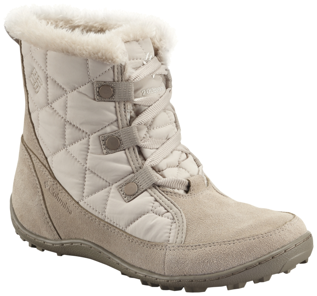 Columbia Women's Minx Shorty Omni-Heat Boot Fawn Pebble-30
