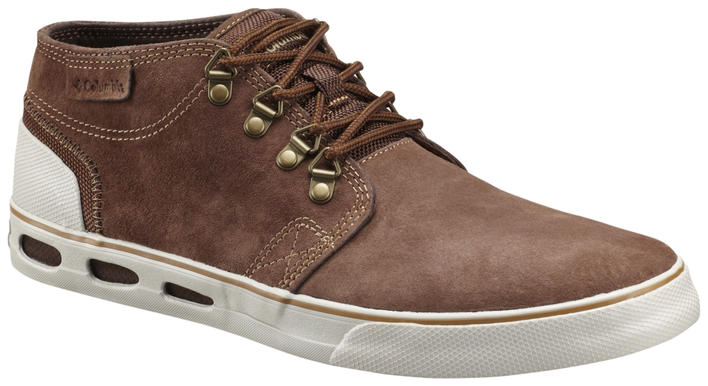Columbia Men´s Vulc N' Vent Half Dome Leather Shoe Tobacco Stone-30