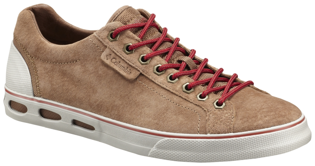 Columbia Men's Vulc N' Vent Camp 4 Low Shoe Otter Brown Gypsy-30