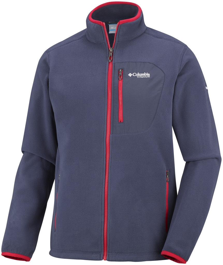 Columbia Men's Titan Pass 2.0 Fleece Jacket Nocturnal-30