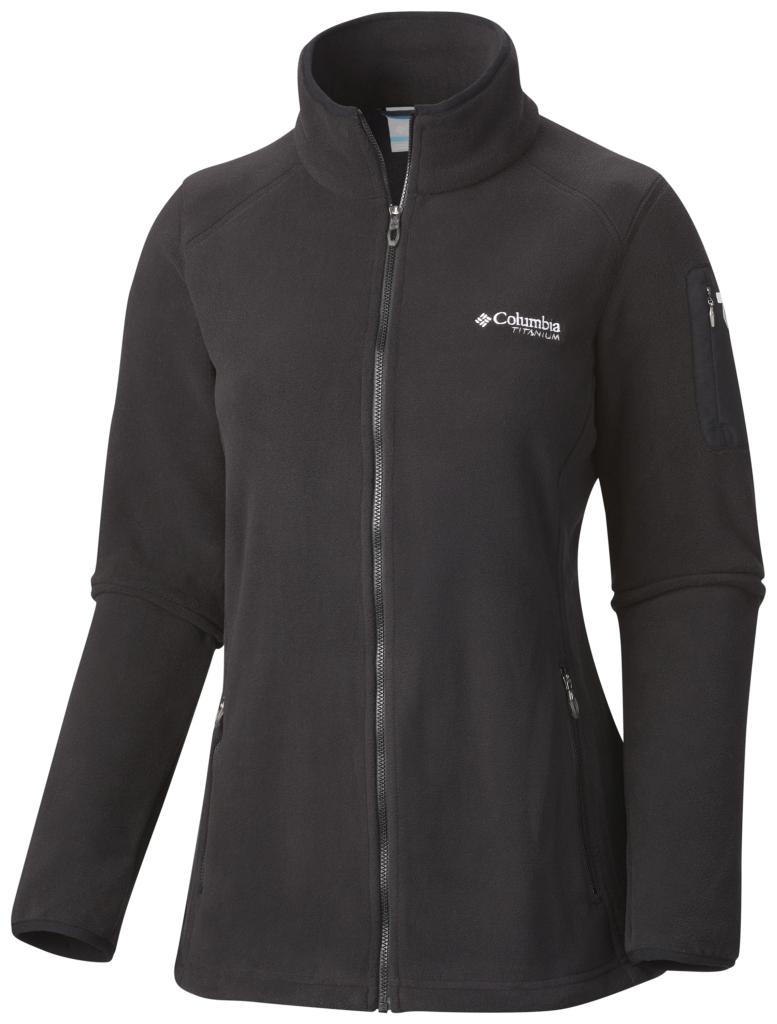 Columbia Women's Titan Pass 2.0 Fleece Jacket Black-30