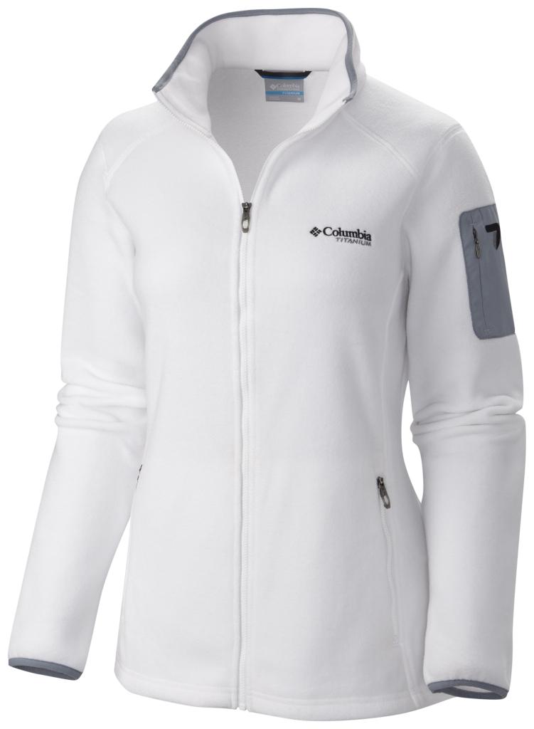 Columbia Women's Titan Pass 2.0 Fleece Jacket White-30
